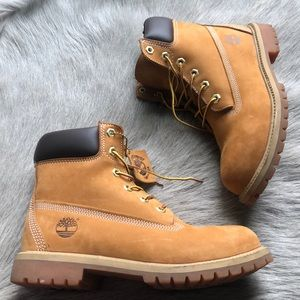 """Timberland Icon 6"""" waterproof tan casual Boots 6"""